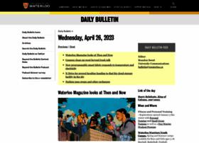 Bulletin.uwaterloo.ca