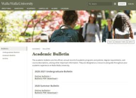 bulletin.wallawalla.edu