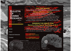 bulletinofzombieresearch.com