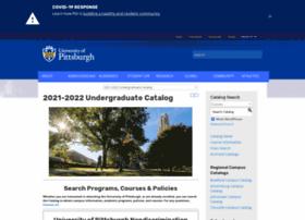 bulletins.pitt.edu