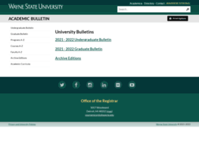 bulletins.wayne.edu
