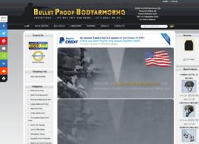 bulletproofbodyarmorhq.com