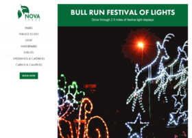 bullrunfestivaloflights.com