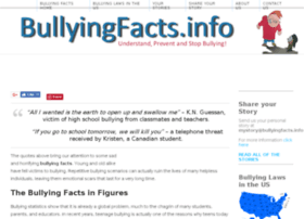 bullyingfacts.info