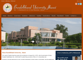 bundelkhanduniversity.org.in