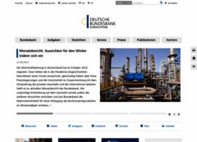 bundesbank.de