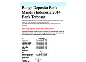bunga-deposito-bank-mandiri.blogspot.com