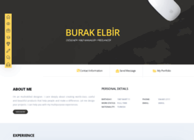 burakelbir.com