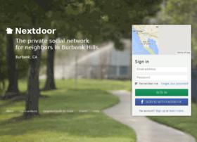 burbankhills.nextdoor.com