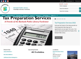 burbanklibrary.com