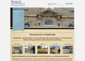 burghstonemasonry.com