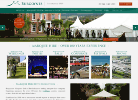 burgoynes-marquees.co.uk
