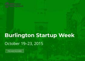 burlington.startupweek.co