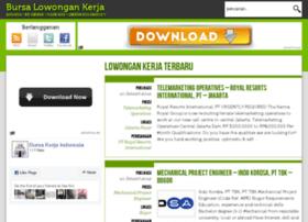 bursakerjaindonesia.info