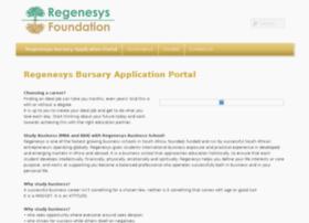 bursary.regenesys.org