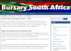 bursarysouthafrica.co.za