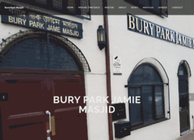 buryparkmasjid.co.uk