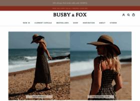 busbyandfox.co.uk