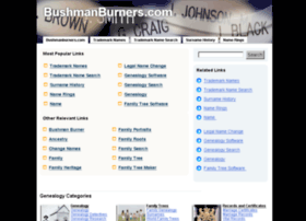 bushmanburners.com