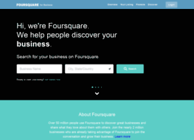 business.foursquare.com