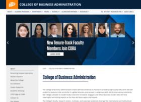 business.utep.edu