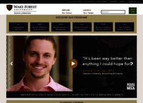 business.wfu.edu