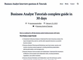 businessanalystfaq.com