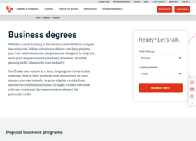 businessandmanagementdegrees.phoenix.edu