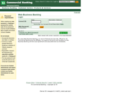 businessbankingbdc.tdcommercialbanking.com