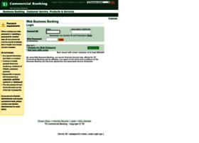 businessbankingcpo.tdcommercialbanking.com