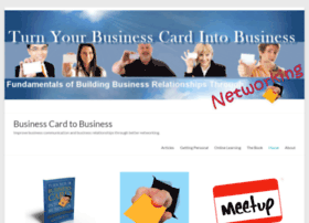 businesscardtobusiness.com