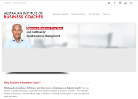 businesscoachinstitute.com.au