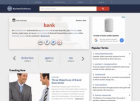 businessdictionary.com