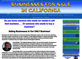 businessesforsaleincalifornia.com