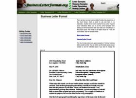 businessletterformat.org