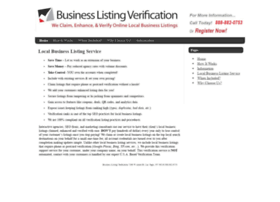 businesslistingverification.com