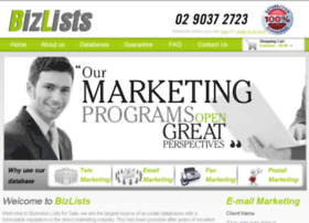 businesslistsforsale.com.au