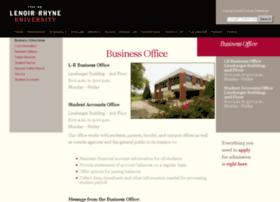 businessoffice.lr.edu