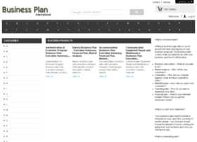 businessplaninternational.com