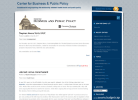 businesspublicpolicy.com