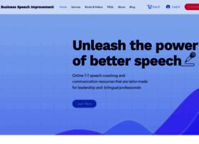 businessspeechimprovement.com