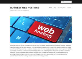 businesswebhostings.net
