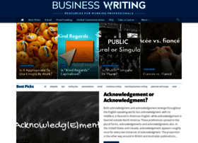 businesswritingblog.com