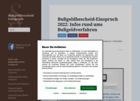 bussgeldbescheid-einspruch.com