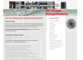 bussgeldkatalog-2015.de