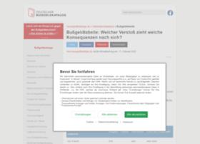 bussgeldtabelle.org