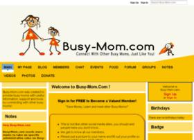 busy-mom.ning.com