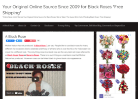 buyblackroses.com