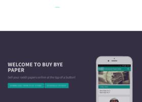 buybyepaper.com