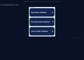 buycheapsoftware.com